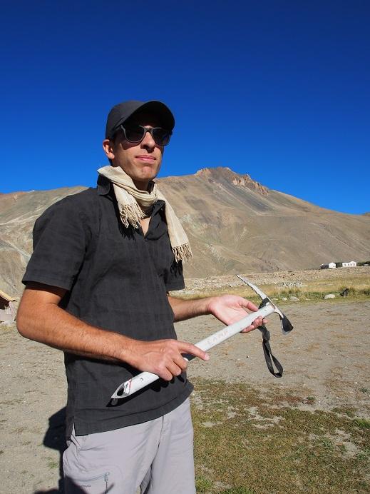 Romain l'alpiniste